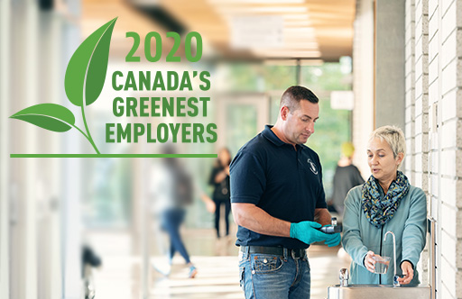 UBC is one of Canada's Greenest Employers